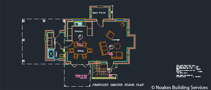 3 Bedroom Ground Floor Plans