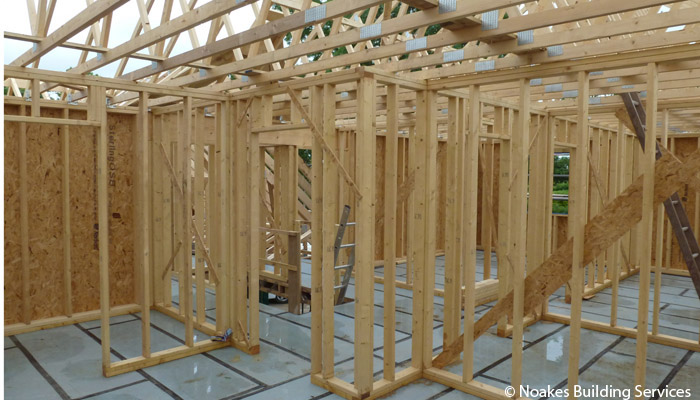 First Floor Timber Frame